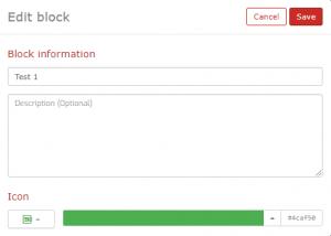 Block Information