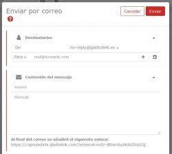 Mejorado el sistema de envío de Links