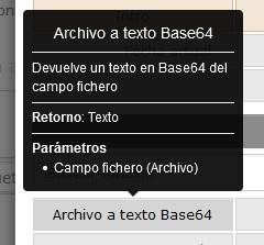 Nueva función de fichero a base64