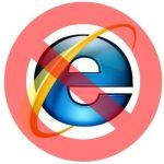 Inhabilitado el acceso por internet Explorer 11 o versiones anteriores